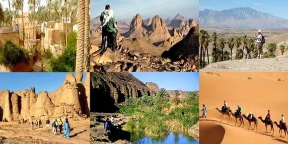 Nearly 160,000 including 10,000 foreigners in Saharan tourism season 2017
